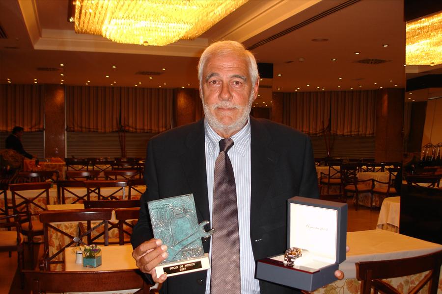 IN MEMORIAM Salvador Carreras Cristina. Socio Fundador y Socio de Honor AEM Ex Secretario General AEM.